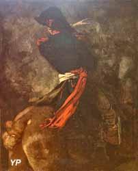 Cavalier au cheval cabré (Thomas Couture)