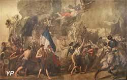 L'enroulement des volontaires de 1792 (Thomas Couture)