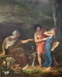Anaxandre et Leucothoé ou La diseuse de bonne aventure (Luc-Olivier Merson, 1867)