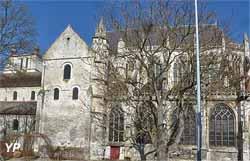 Église Saint-Étienne - choeur gothique, façade Sud