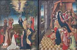 Ascension et mort de la Vierge.