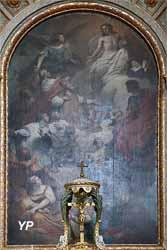 Le Christ adoré par l'Univers (N. Delobel, 1732)