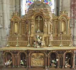 Autel de la chapelle Saint-Claude (XIXe s.)