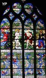 Baptème du Christ et de sainte Barbe