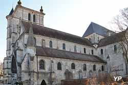 Église Saint-Étienne - nef romane, façade Sud