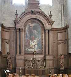 Chapelle du bras Sud du transept