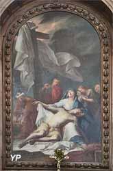 La Descente de croix (L. Depape, 1724)