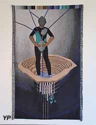 Infinite Yield (Otobong Nkanga) - expo temporaire 2018 Muralnomad