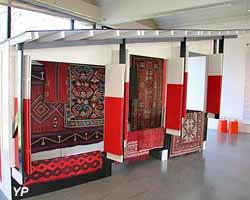 Mise en musique du kiosque de Melnikov (Michel Aubry) - expo temporaire 2018 Muralnomad