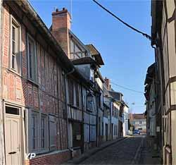 Maisons à pan de bois rue Nicolas Pastour