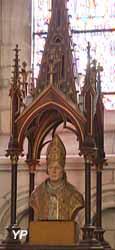 Buste reliquaire de saint Omer