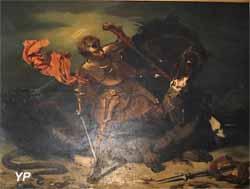 Saint Georges victorieux (Jules-Claude Ziegler , XIXe s.)