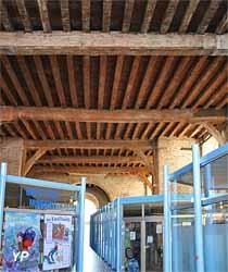 Salle d'exposition du rez-de-chaussée