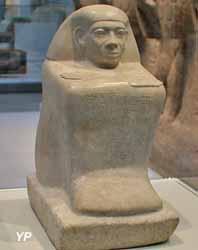 Homme accroupi (Abydos, Égypte, 1790-1700 av. JC)