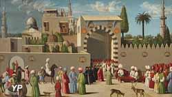 Réception d'une délégation vénitienne à Damas (Italie, 1511)