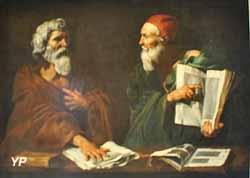 Deux philosophes (Jusepe de Ribera, 1612)