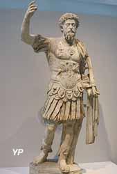 Marc-Aurèle, empereur romain (vers 160 après JC)