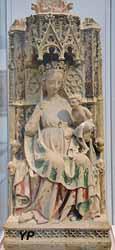 Vierge à l'enfant provenant d'une léproserie (vers 1350)
