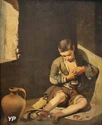 Le jeune mendiant (Bartolomé Esteban Murillo, vers 1645)