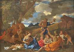 Fête en l'honneur de Bacchus, dieu romain du vin, dite la Grande Bacchanale (Nicolas Poussin, vers 1627)