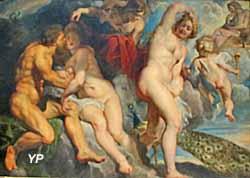 Le roi Ixion trompé par Junon qu'il voulait séduire (Pierre-Paul Rubens, vers 1615)