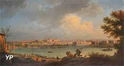 Vue de la ville d'Avignon (Joseph Vernet, 1757)