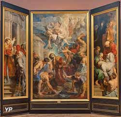 Triptyque de saint Étienne (Pierre Paul Rubens, vers 1616)