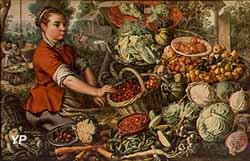La Pourvoyeuse de légumes (Joachim Beuckelaer, 1635)