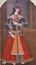 Portrait de Abbas Mirza (Iran, vers 1805)