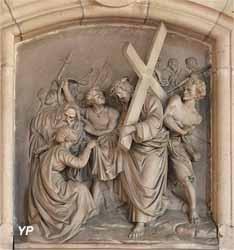 Chemin de Croix - Véronique essuie la face de Jésus