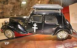 Citroën Traction 11BL de FFI, alimentée au gaz de ville (bonbonnes)