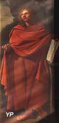 Saint Jean l'Évangéliste (Élias Mathieu, XVIIe s.)
