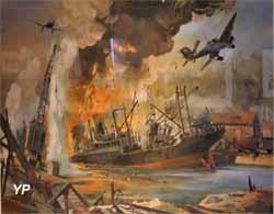 L'attaque du cargo Monique Schiaffino (Roger Chapelet)