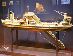 La drague la plus puissante du monde construite à Dunkerque (1933)