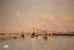 Le chenal du port de Dunkerque (Johannes Martin Grimelund)