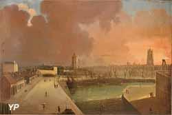 Le port d'échouage (A. Bane, 1830)