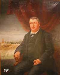 Portrait de Jean-Jacques Benoît Vanderriele, constructeur de navires (Boulangier, 1890)