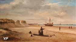 Plage de Malo et vérotières (Georges Vergriete)