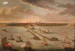 Les Anglais entrent dans le port de Dunkerque en 1792 (Philippe Jonaert)