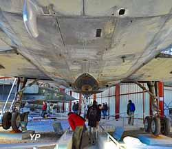 Sous le Mirage IV