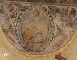 Fresque de l'absidiole Nord