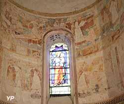 Fresque de l'absidiole Nord (Jean-Paul Campistron)
