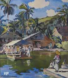 Un bac aux Antilles (Jean Baldoui)