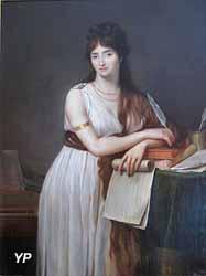 Portrait de Lady Hamilton (Guillaume Lethiere)