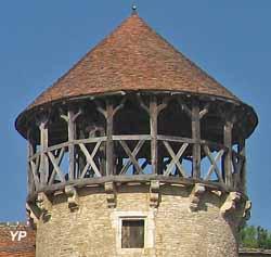 Hourd du château de Sercy