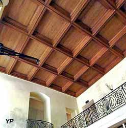 Plafond à caissons