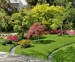 Jardin Botanique de Tours - jardin thématique d'inspiration japonaise