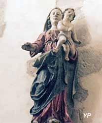Vierge à l'enfant (XVIIe s.)