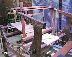 Métier à tisser de draperie (fin XIXe s.)