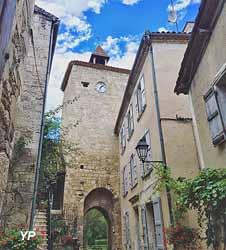 Village circulaire de Fourcès (Office de Tourisme de la Ténarèze)